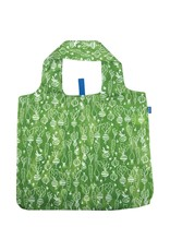 Rock Flower Paper Veggies Green Blu Bag