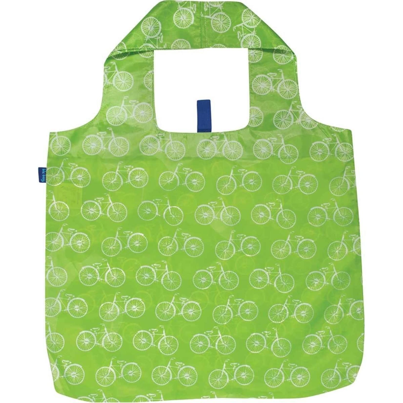 Rock Flower Paper 39-7880P Summer Bikes Lime Blu Bag