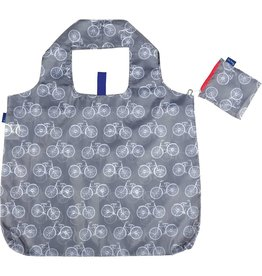 Rock Flower Paper 39-7880E-P Summer Bikes Grey Blu Bag