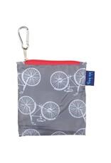 Rock Flower Paper 39-7880E-P Summer Bikes Grey Blu Bag