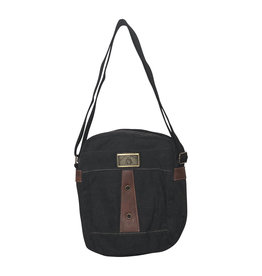 Triple Tree Canvas 3966 Charcoal Shoulder/Crossbody Bag