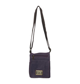 3980P Purple Canvas Bag