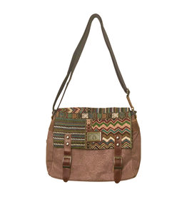 Triple Tree Canvas 3982 Brocade & Canvas Bag
