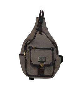 Triple Tree Canvas 3951 Med Gray Canvas Sling