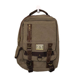 Triple Tree Canvas 3962 Light Brown Sling Bag
