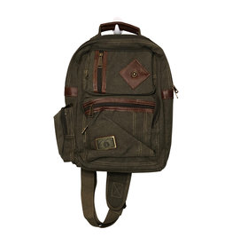 Triple Tree Canvas 3964 Green Sling Bag