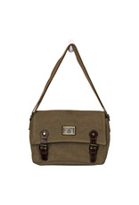 Triple Tree Canvas 3975 Khaki Canvas Purse