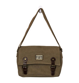 3975 Khaki Canvas Purse