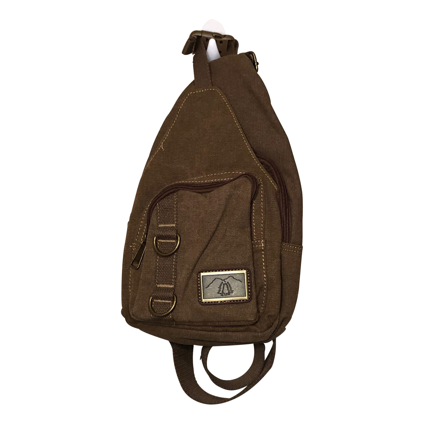 Triple Tree Canvas 3978 Brown Canvas Sling