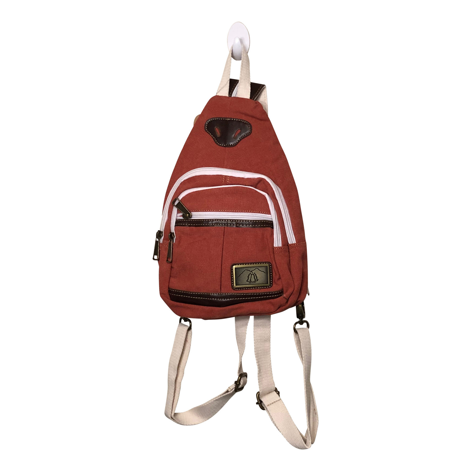 Triple Tree Canvas 3979S Coral Canvas Sling