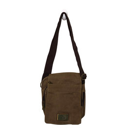3988 Brown Canvas Bag