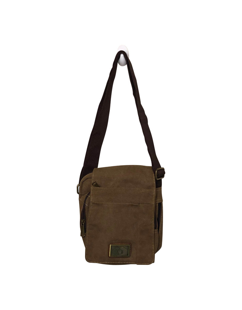 Triple Tree Canvas 3988 Brown Canvas Bag