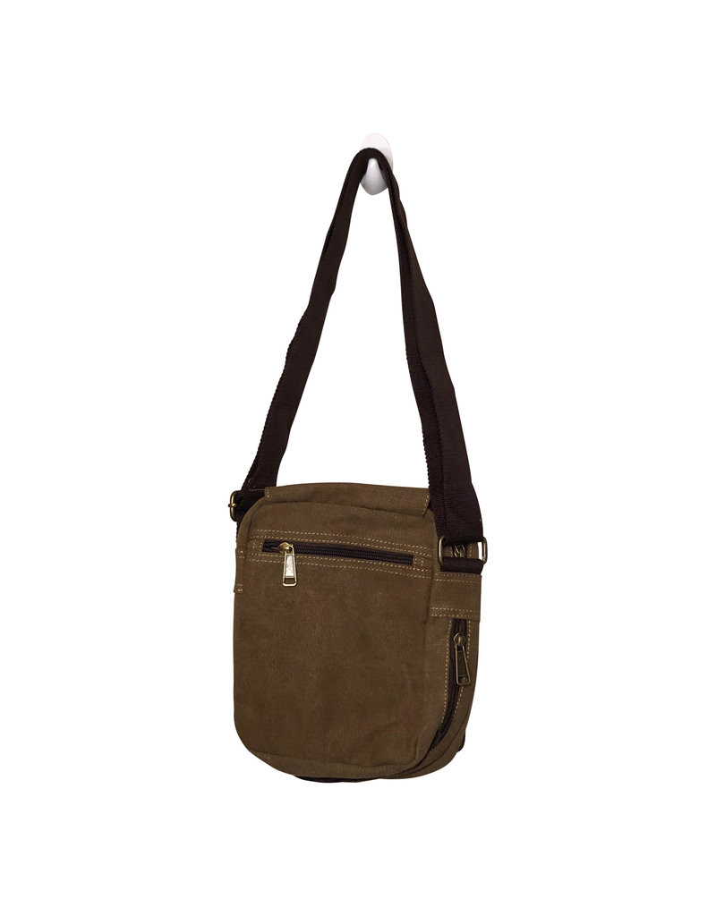 3988 Brown Canvas Bag