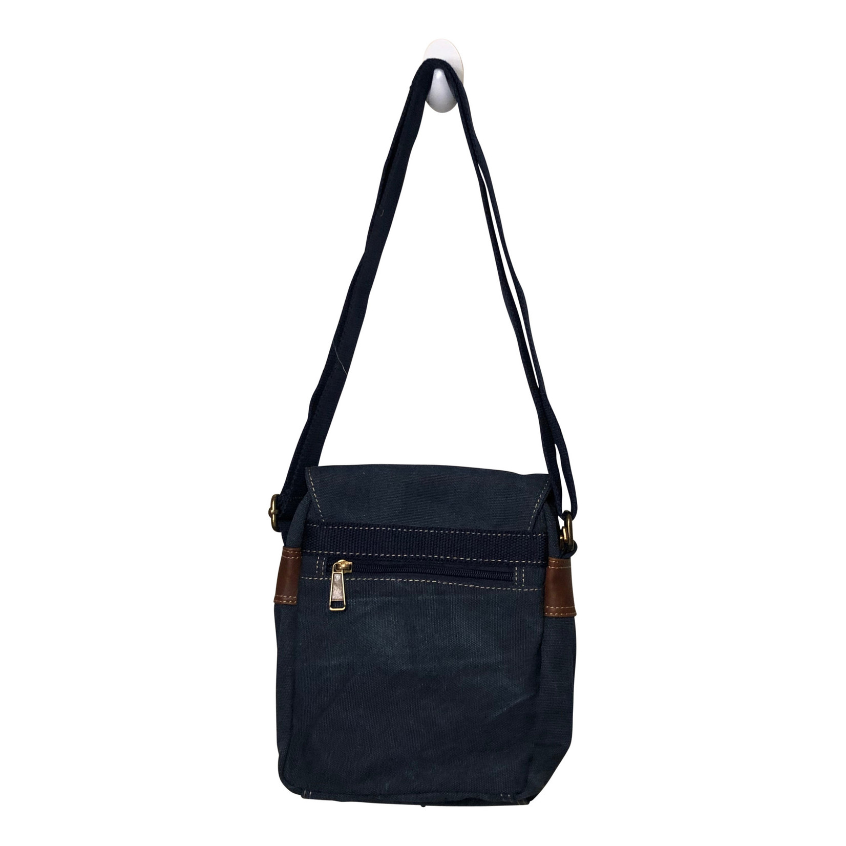Triple Tree Canvas 3987 Blue Canvas Bag