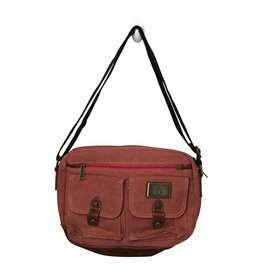 Triple Tree Canvas 3990 Dusty Rose Canvas Bag
