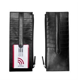 Leather Handbags and Accessories 7800 Black - RFID Card Holder