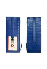 Leather Handbags and Accessories 7800 Cobalt - RFID Card Holder