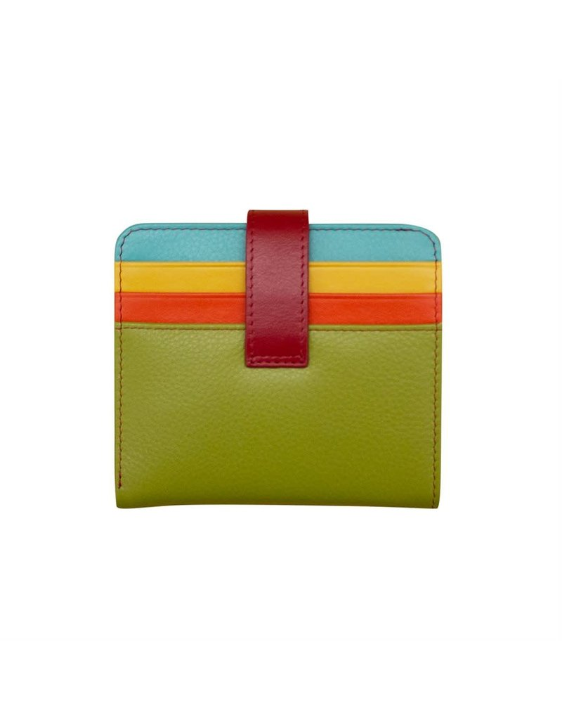 Leather Handbags and Accessories 7301 Citrus - RFID Small Wallet
