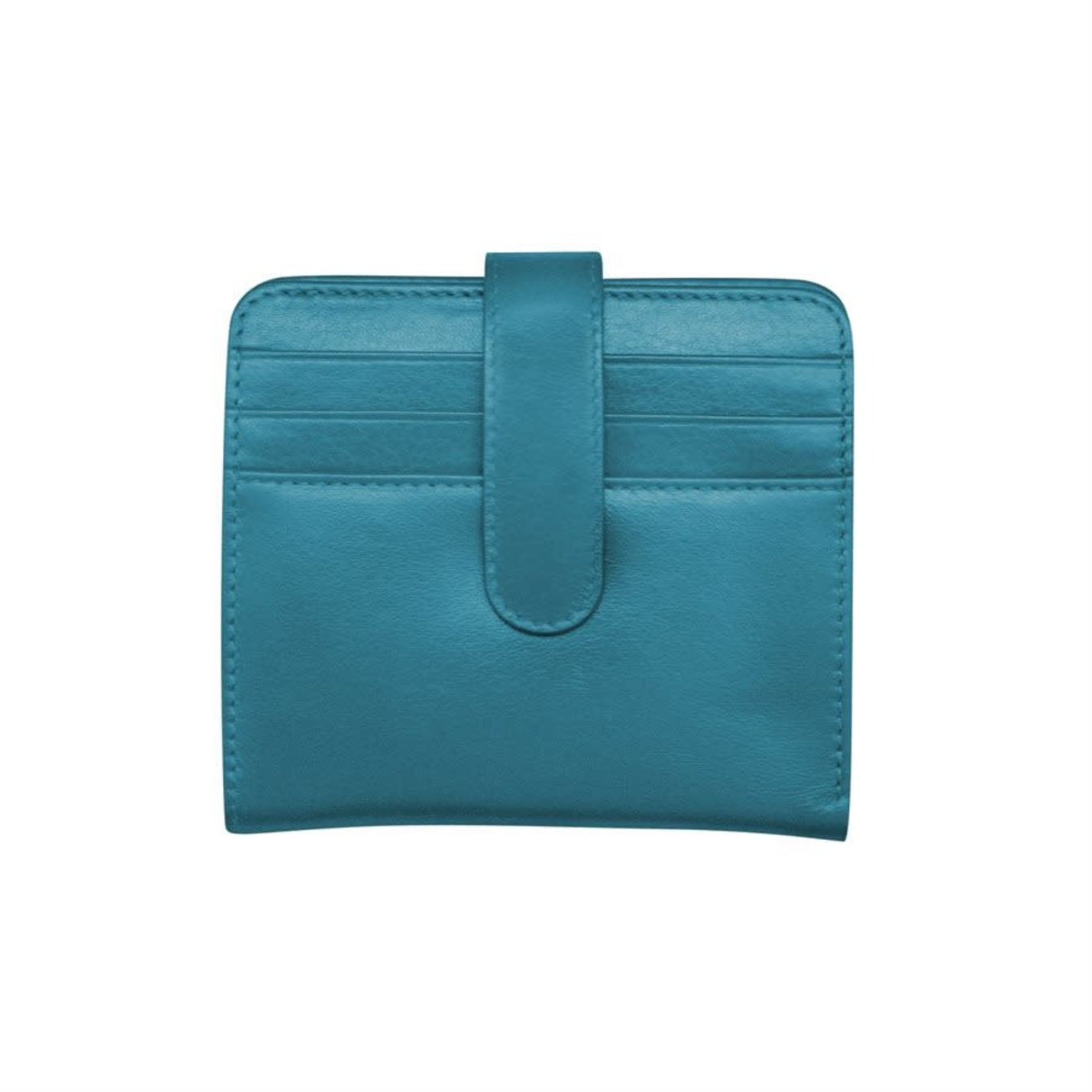 Leather Handbags and Accessories 7301 Jeans Blue - RFID Small Wallet