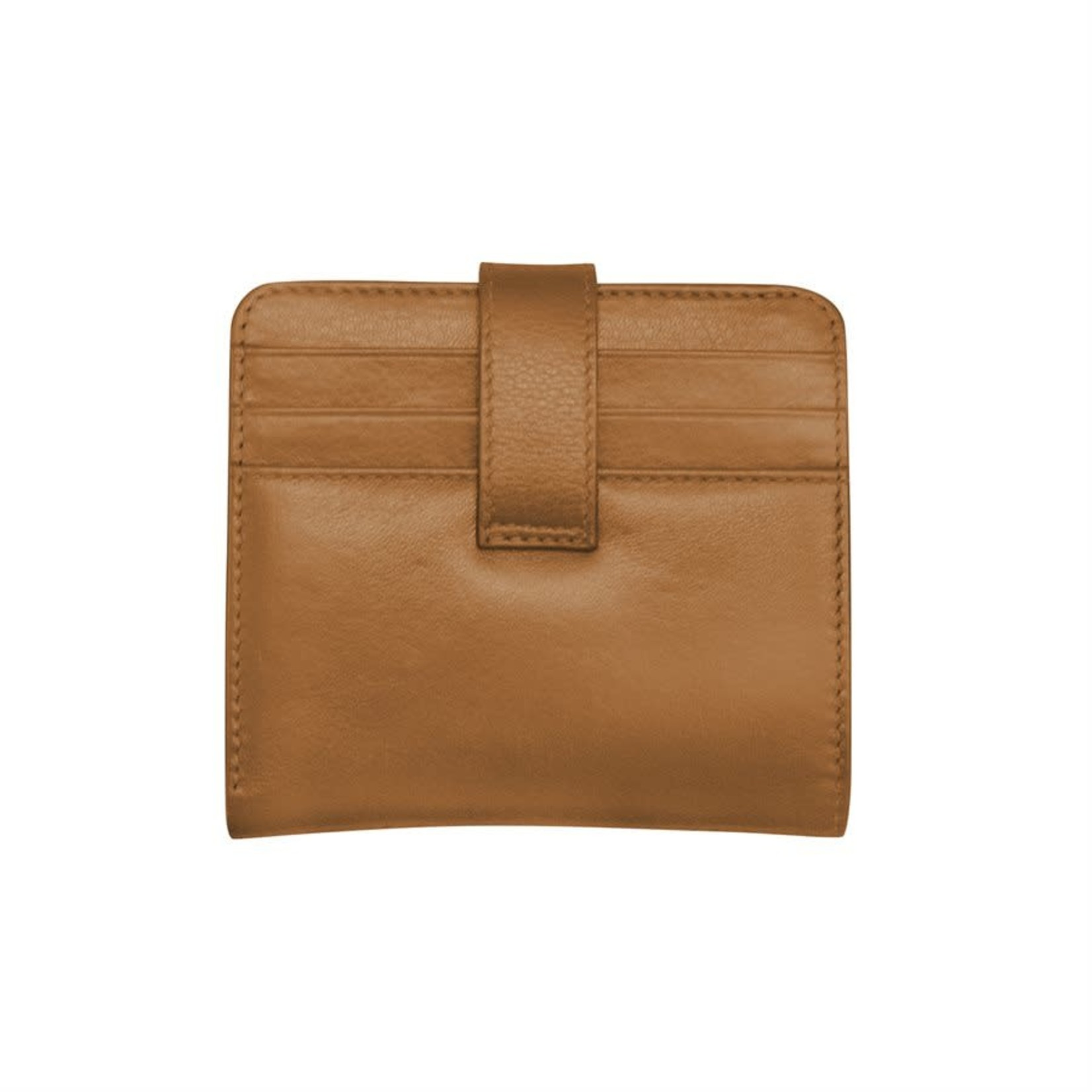 Leather Handbags and Accessories 7301 Antique Saddle - RFID Small Wallet