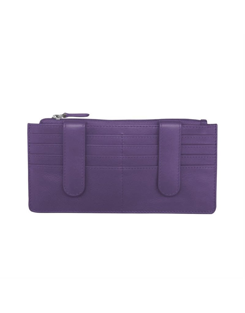 7306 Purple - RFID Credit Card Wallet