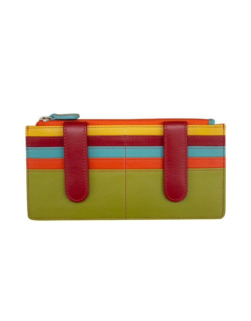 Leather Handbags and Accessories 7306 Citrus - RFID Credit Card Wallet