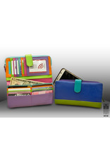Leather Handbags and Accessories 7420 Citrus - RFID Smartphone Wallet