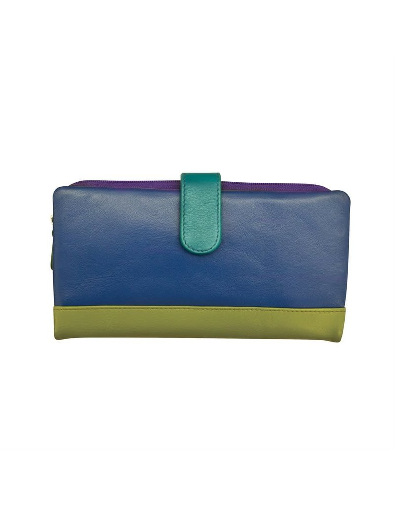 Leather Handbags and Accessories 7420 Cool Tropics - RFID Smartphone Wallet
