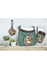 Chala Crescent Crossbody Sloth