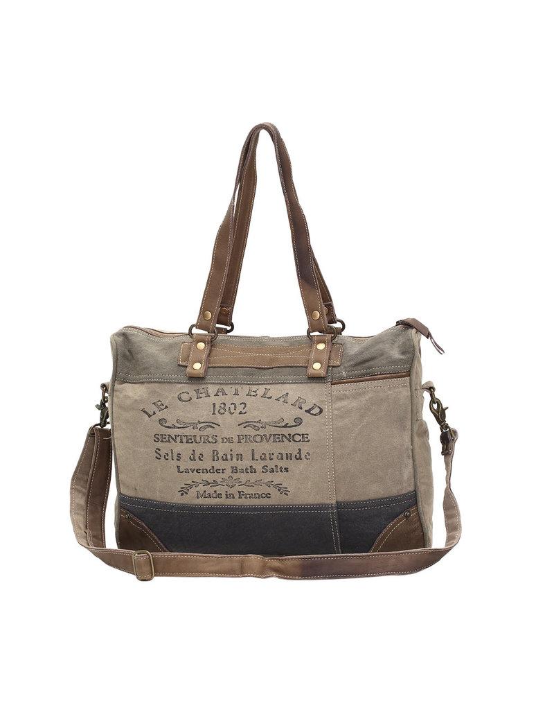 """Myra Bags S-0966 """"1802"""" Messenger Bag"""