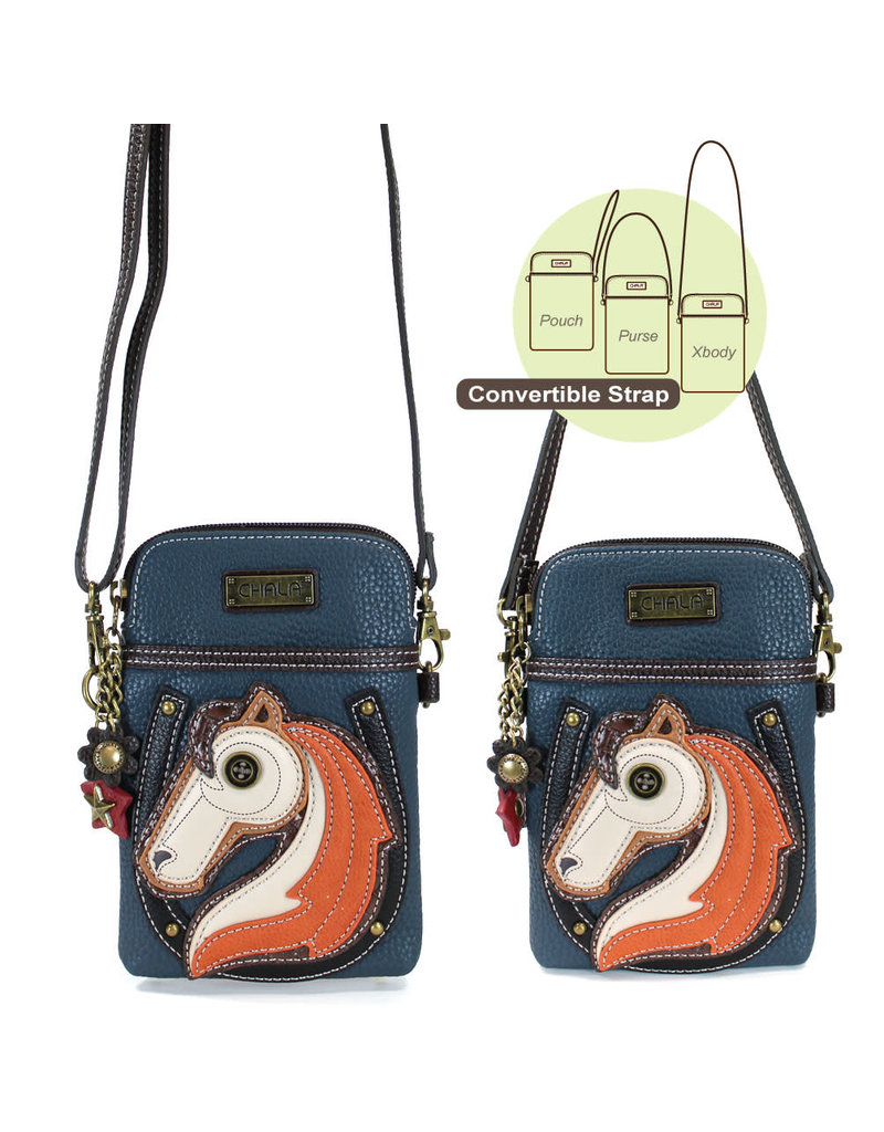 Chala Cell Phone Crossbody Horse