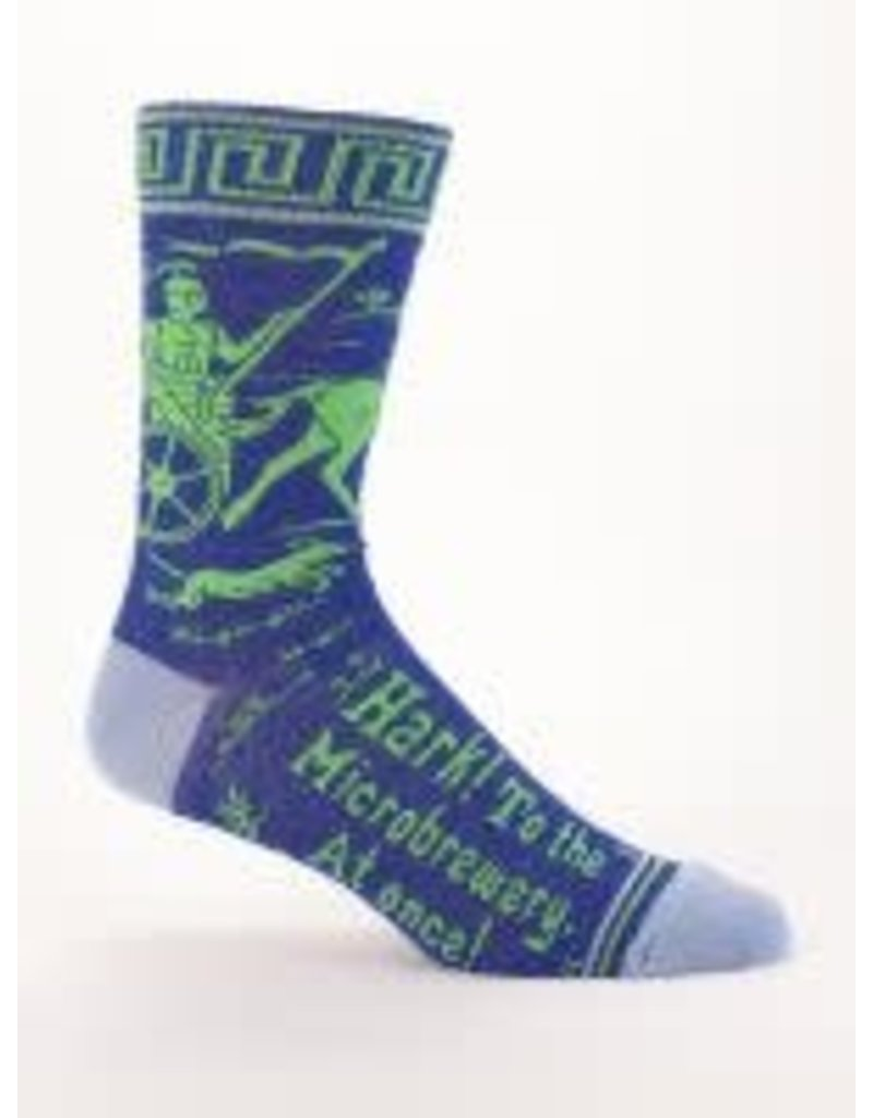 Mens Crew Socks Hark Microbrewery