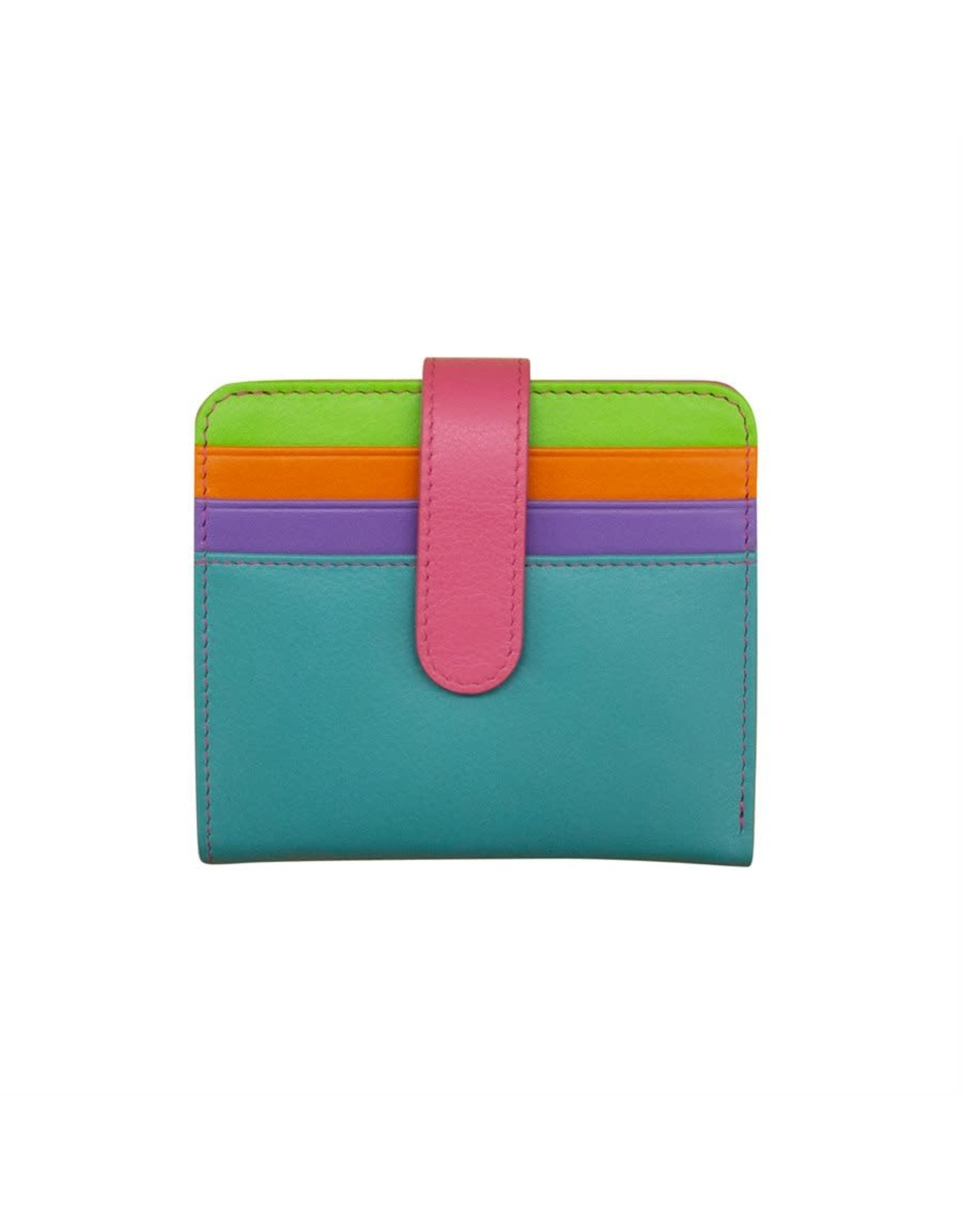 Leather Handbags and Accessories 7301 Palm Beach - RFID Small Wallet