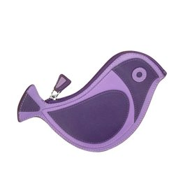 6455 Purple - Bird Coin Purse