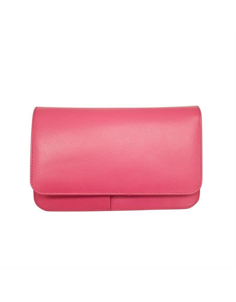 6517 Hot Pink - RFID Smartphone Crossbody