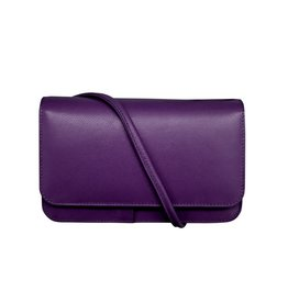 6517 Purple - RFID Smartphone Crossbody