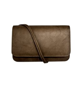 6517 Walnut - RFID Smartphone Crossbody