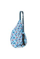 Kavu Mini Rope Bag SS19 - Paper Flock