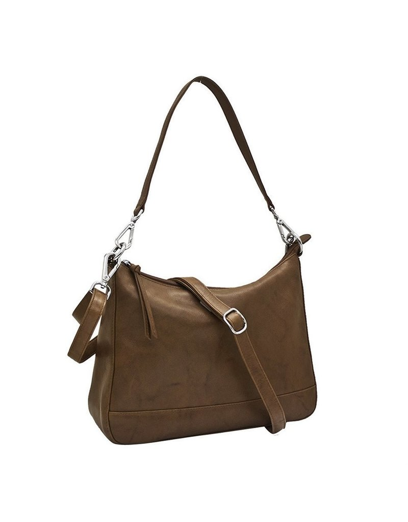 Leather Handbags and Accessories 6091 Crossbody/Shoulder Bag Toffee