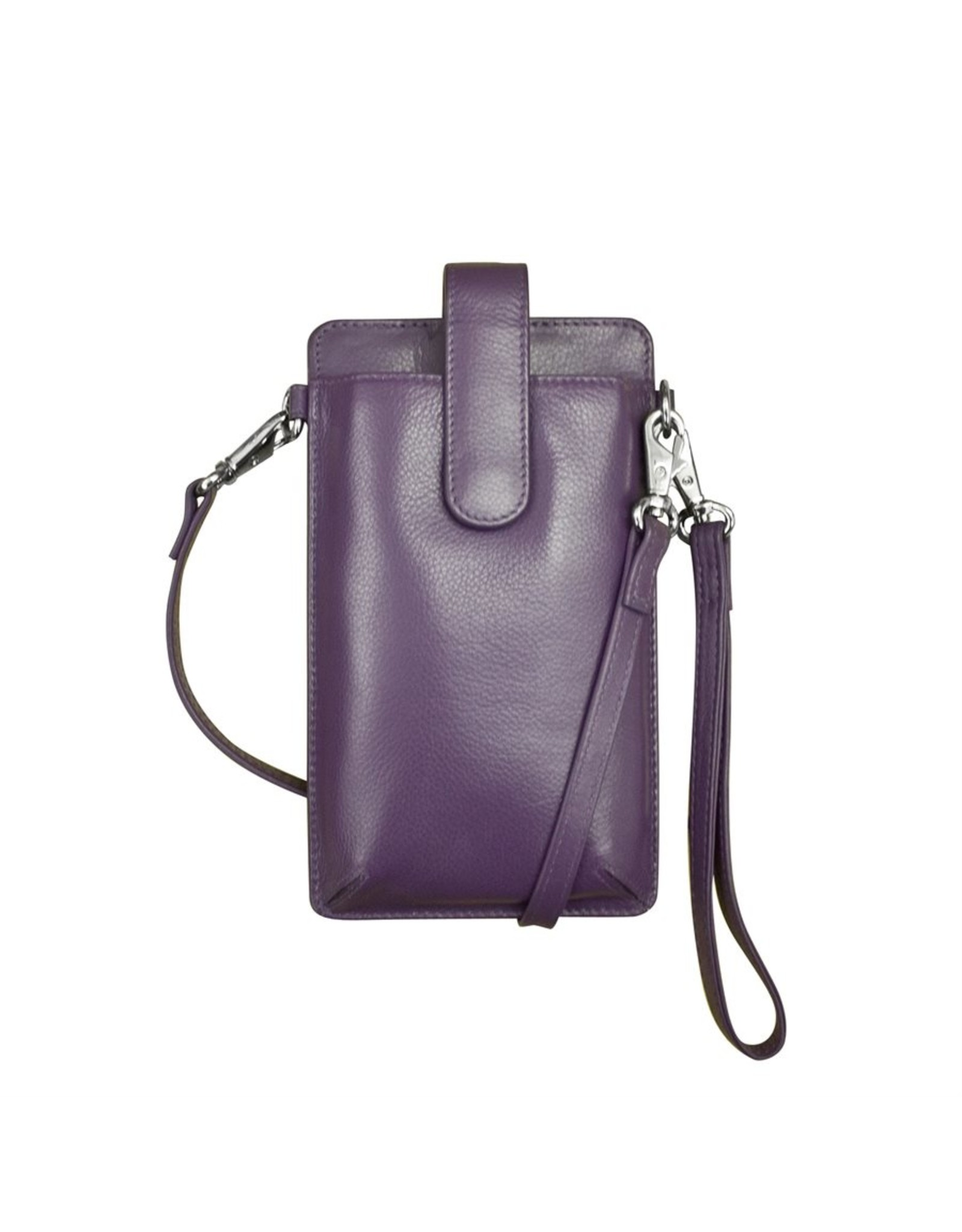 Leather Handbags and Accessories 6368 Smartphone Case Purple