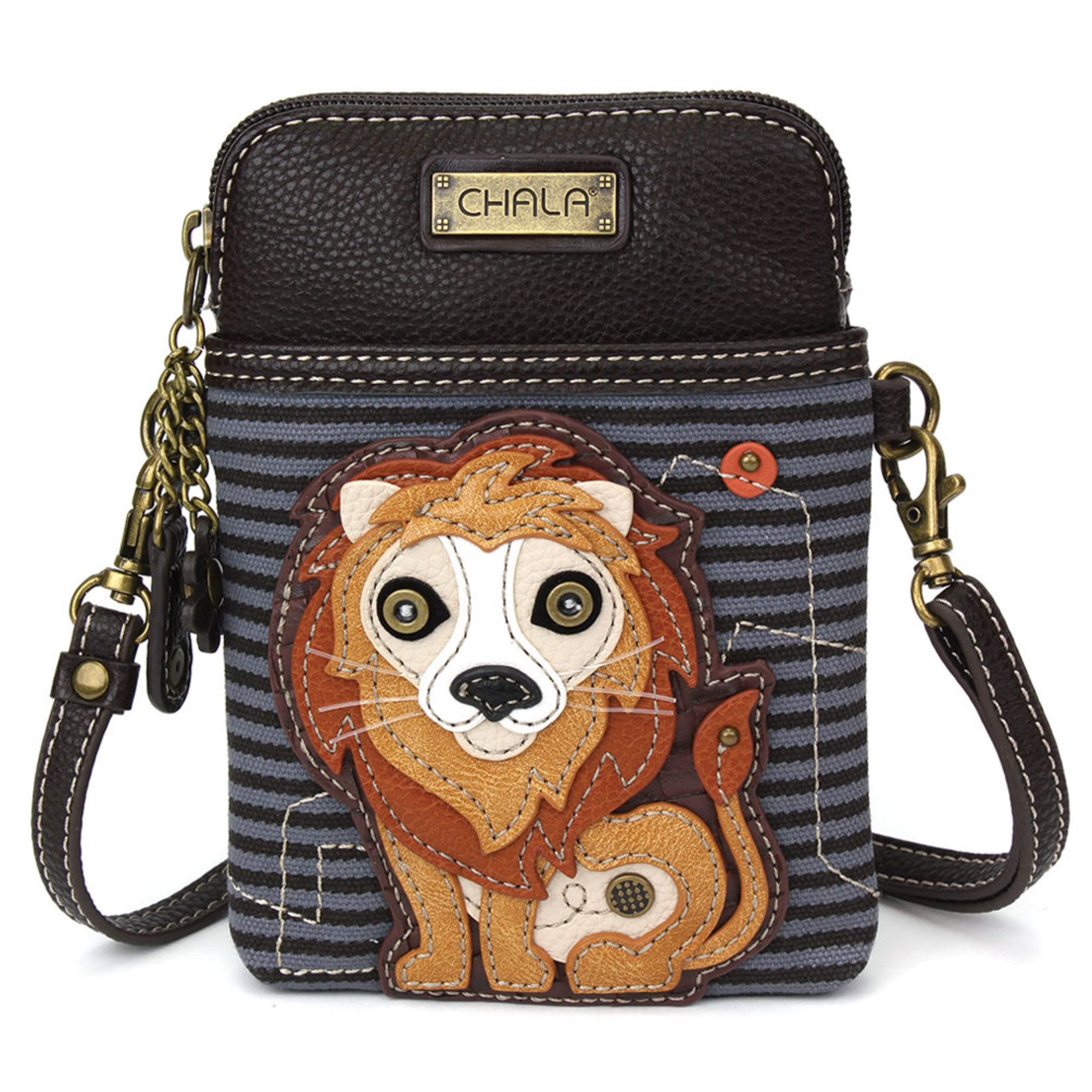 Chala Cell Phone Crossbody Lion