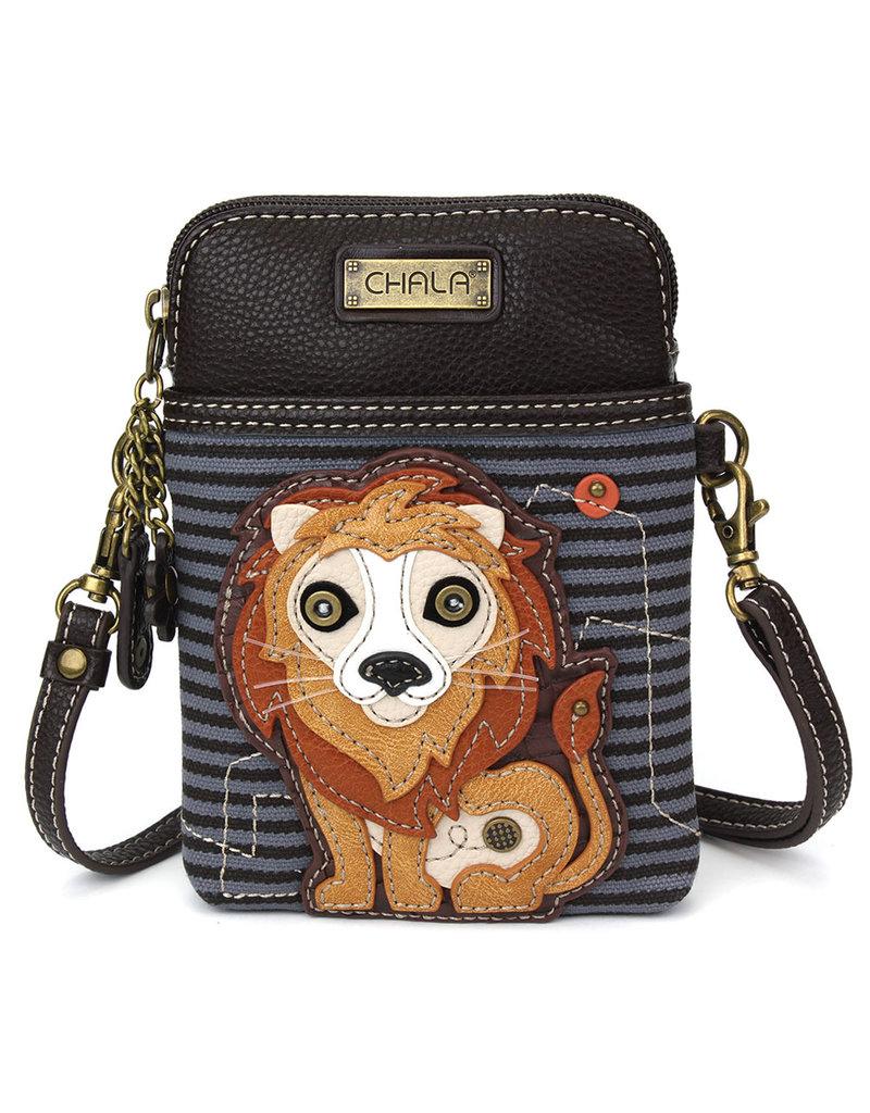 Chala Cell Phone Crossbody Lion