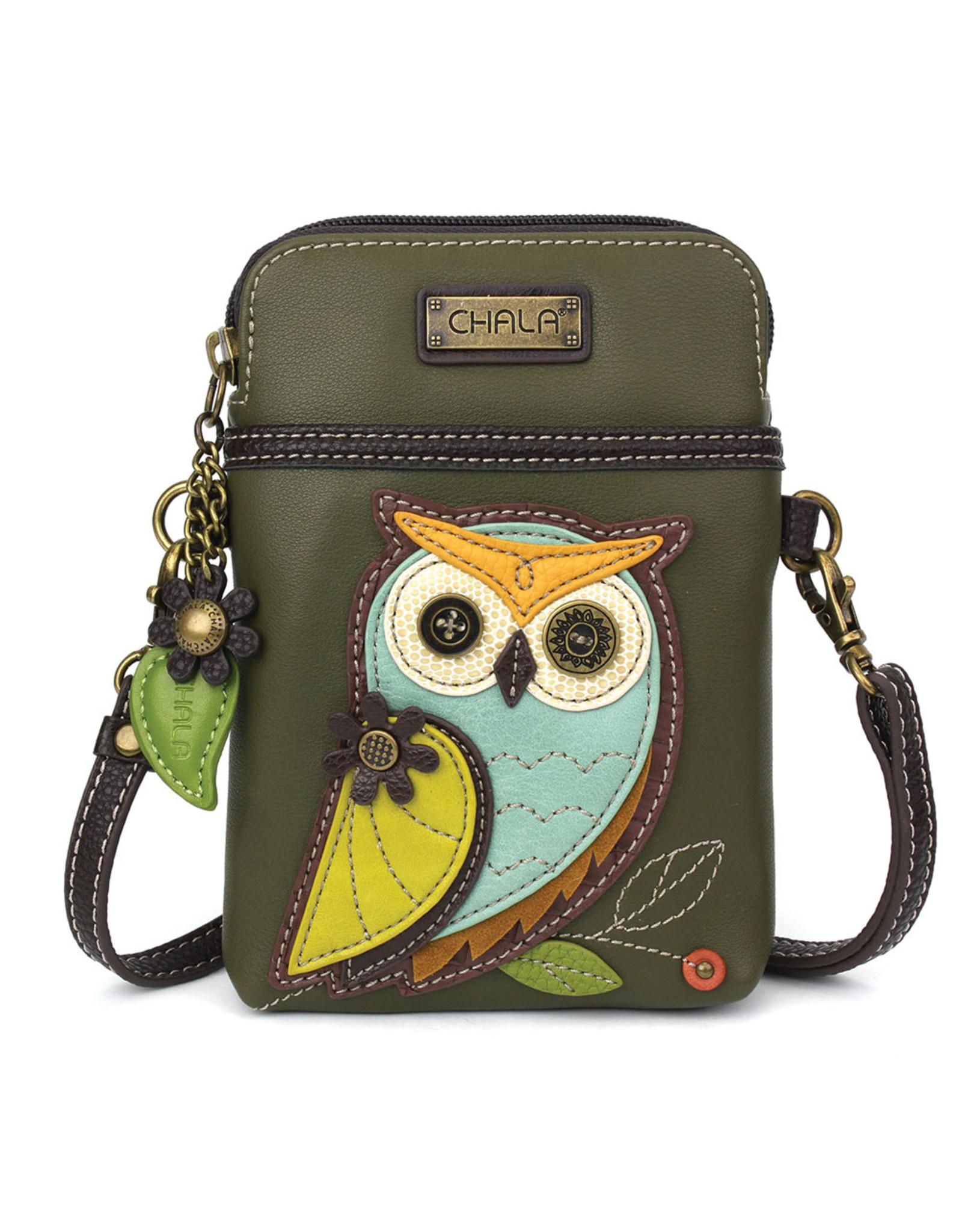Chala Cell Phone Crossbody Owl A Gen II
