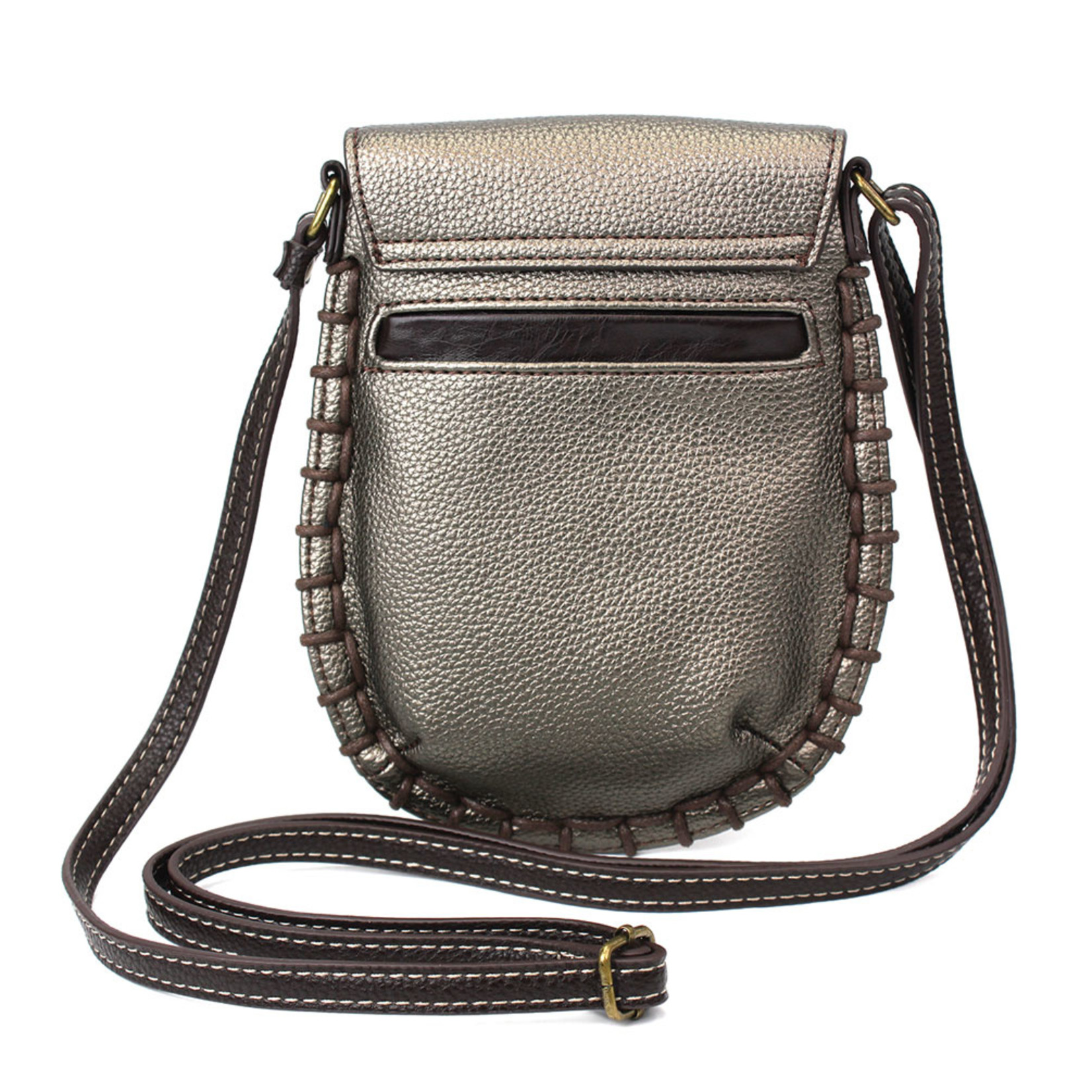 Chala Charming Cell Phone Crossbody Pewter
