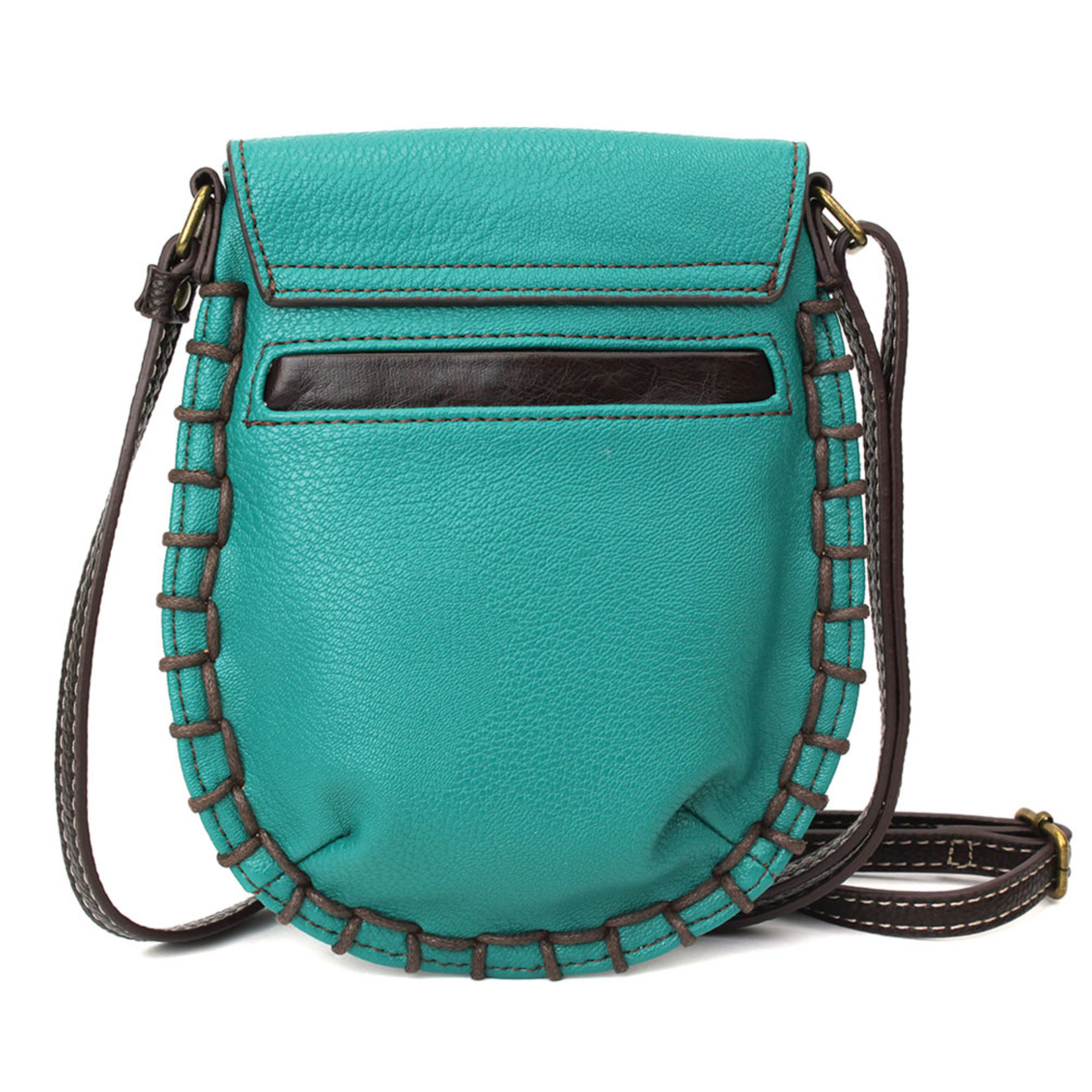Chala Charming Cell Phone Crossbody Turquoise