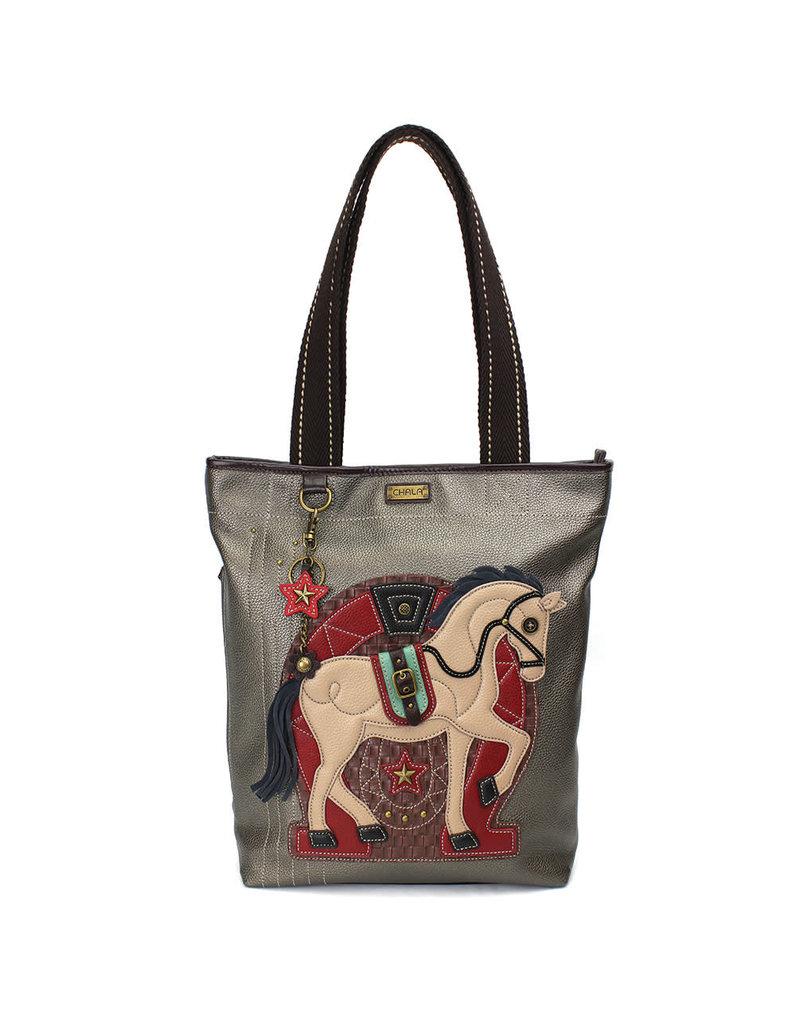 Chala Everyday Zip Tote II Horse A Gen II
