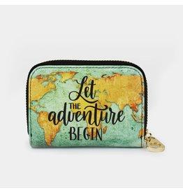 Zip Around Wallet - Let Adventure Begin