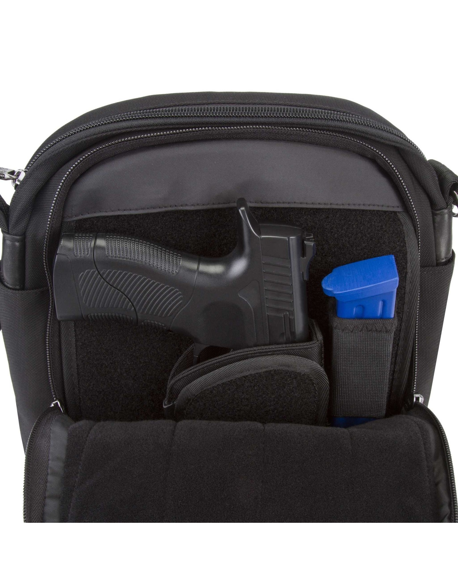 Travelon 43048-500-0060-01 AT Concealed Carry Tour Bag - Black