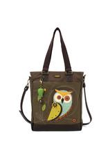 Chala Work Tote Owl A