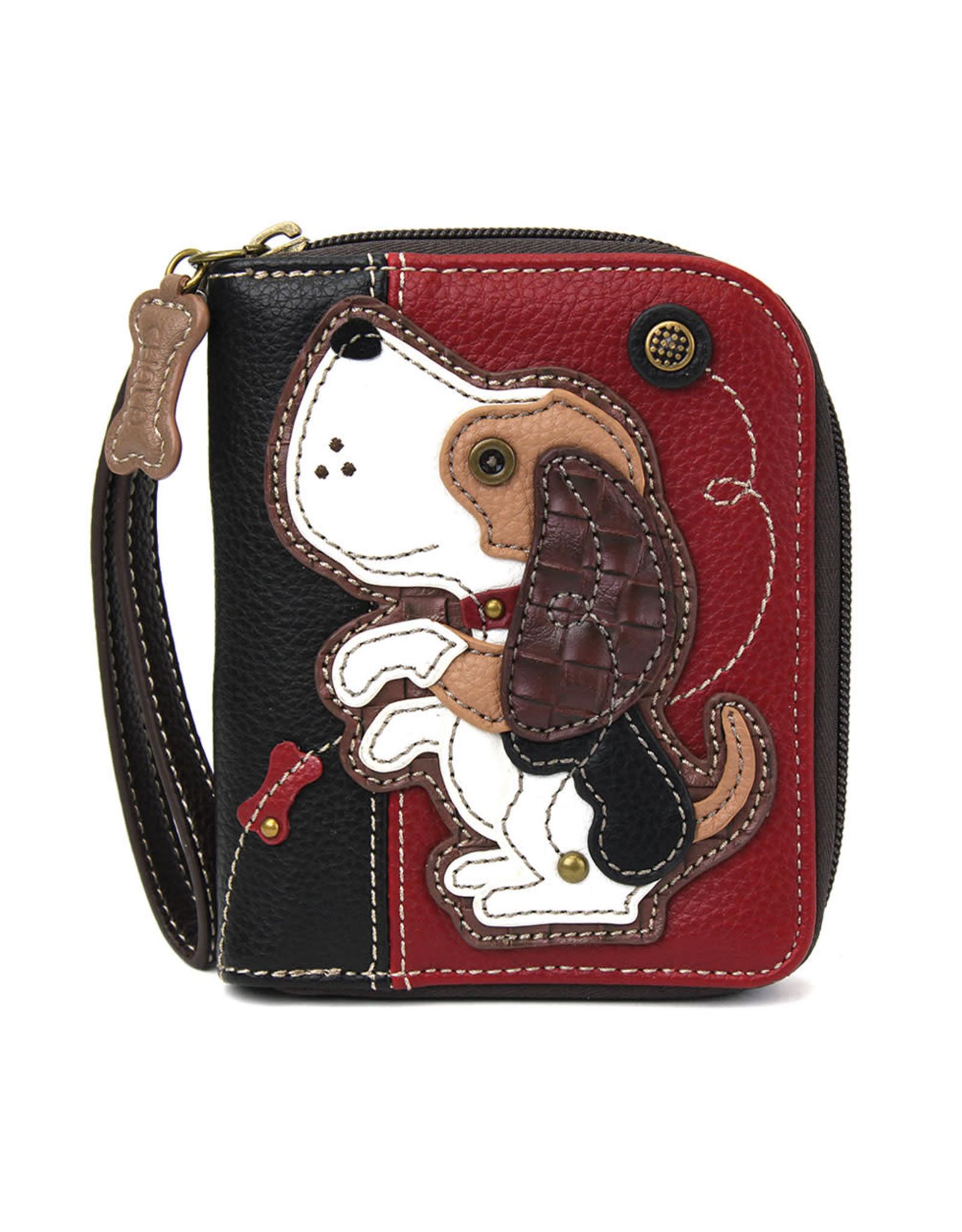 Chala Zip Around Wallet Dog A Gen II